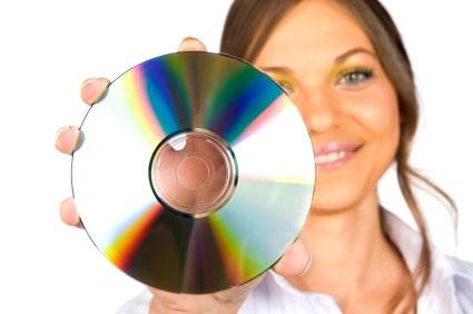 שחזור דיסק DVD/CD